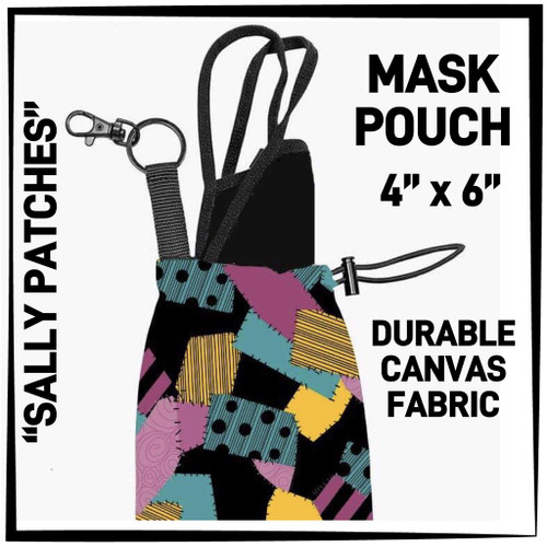 AR Sally Patches Canvas Pouch