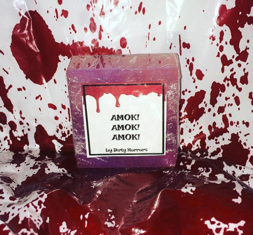 Dirty Horrors Amok! Amok! Amok! soap
