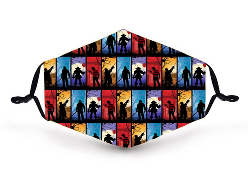 RR Horror Silhouettes face cover