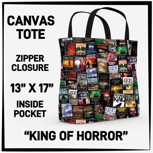 AR King of Horror Tote bag