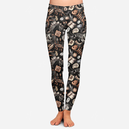 218  Fossils leggings PREORDER due 4/18