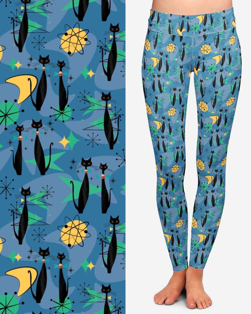 DL Atomic Cats leggings PREORDER due 6/20
