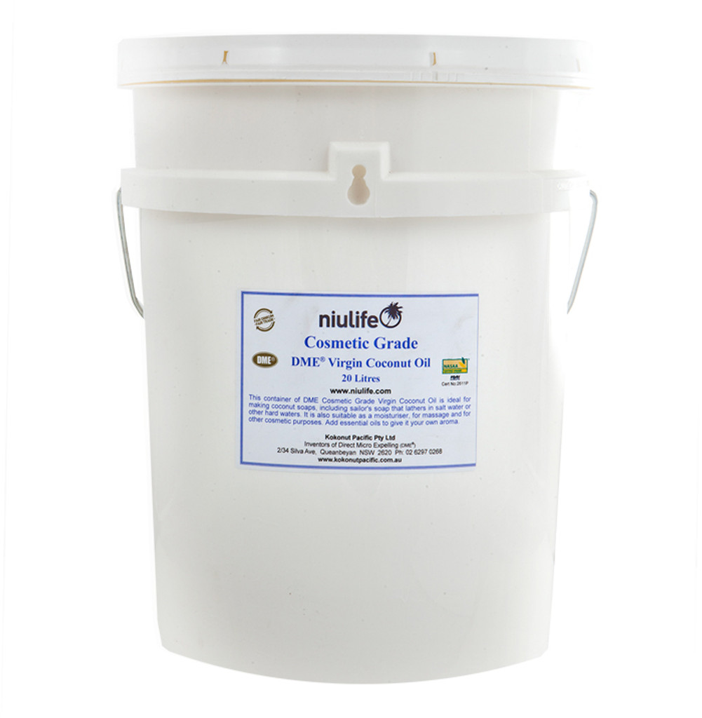 Extra Virgin Coconut Oil Cosmetic Grade - Certified Organic  20L Pail