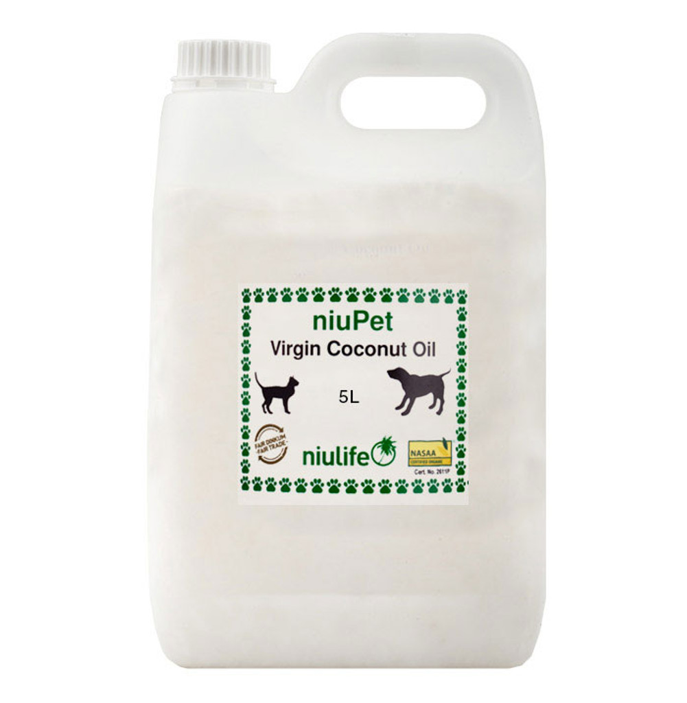 NiuPet Coconut Oil  - 5L Jerry Can
