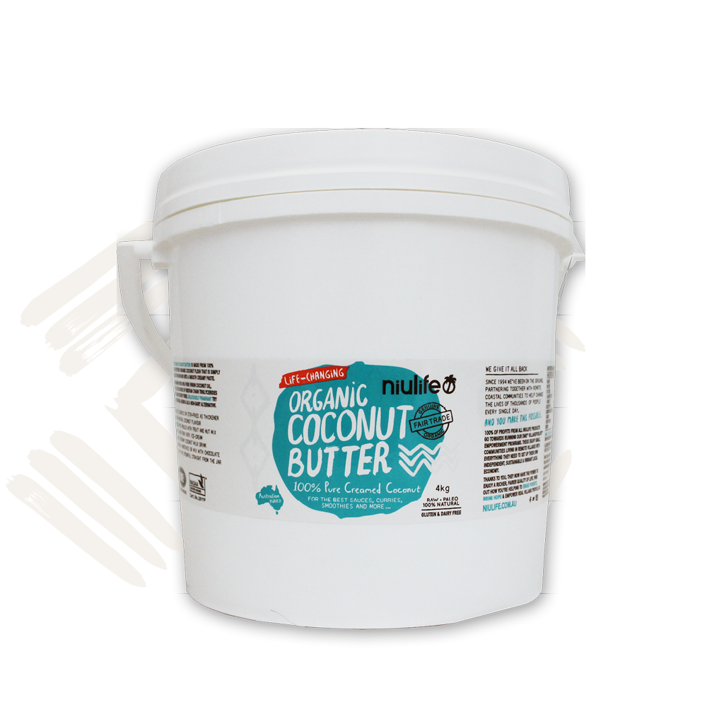 Coconut Butter - Certified Organic - 4kg Pail