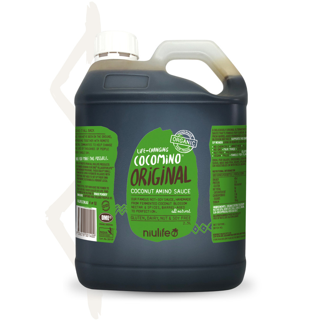 Cocomino - Original Coconut Amino Sauce - 2.5L Jerry Can