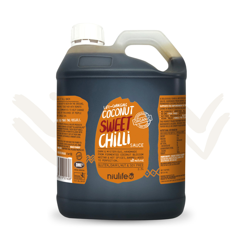 Coconut Sweet Chilli Sauce - 2.5L Jerry Can
