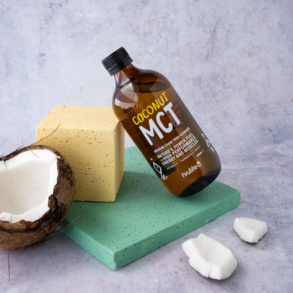 Coconut MCT Oil - 500ml Glass Bottle
