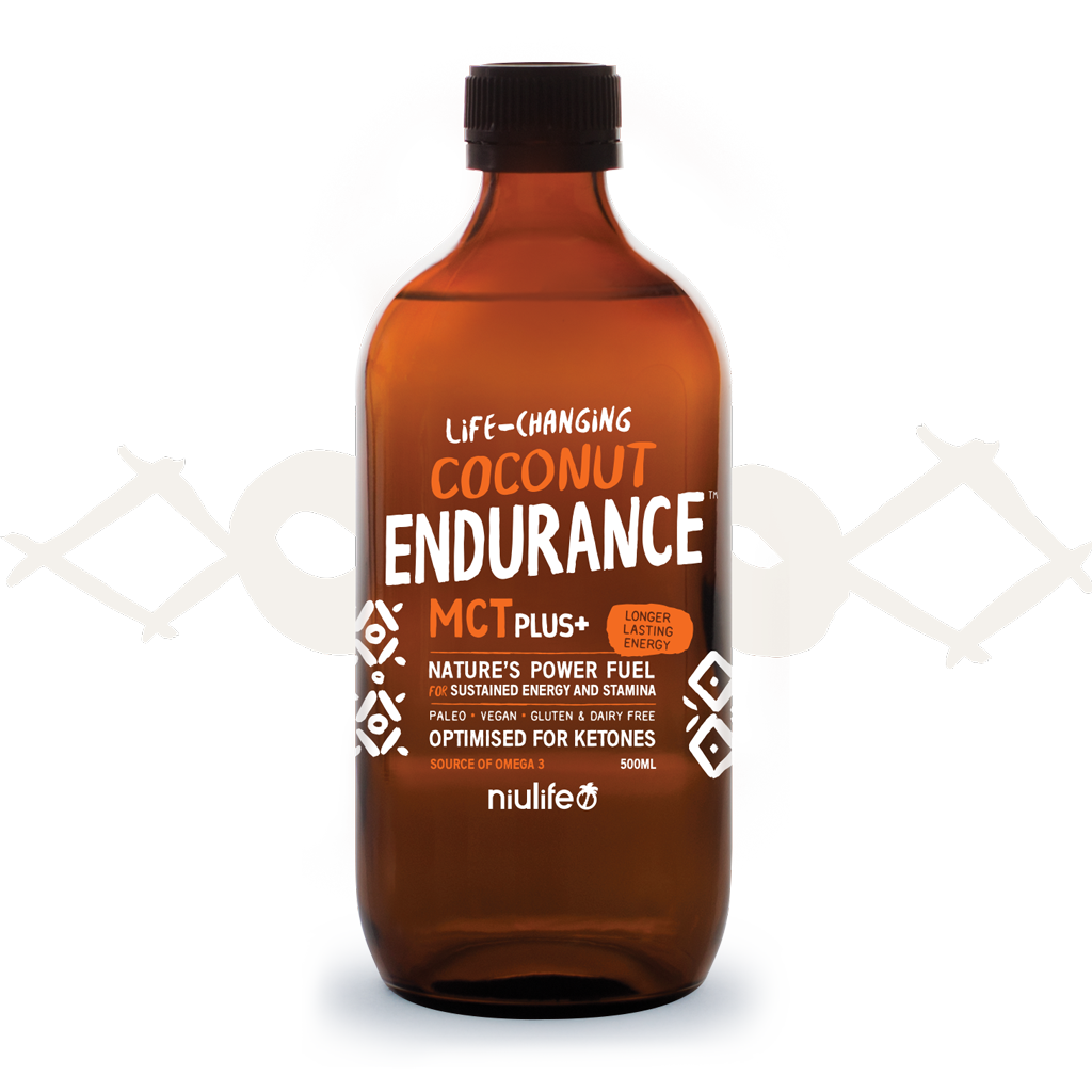 Coconut Endurance MCT Plus+ 500ml Glass Bottle