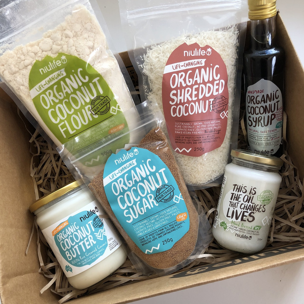 The ultimate coconut bakers gift pack