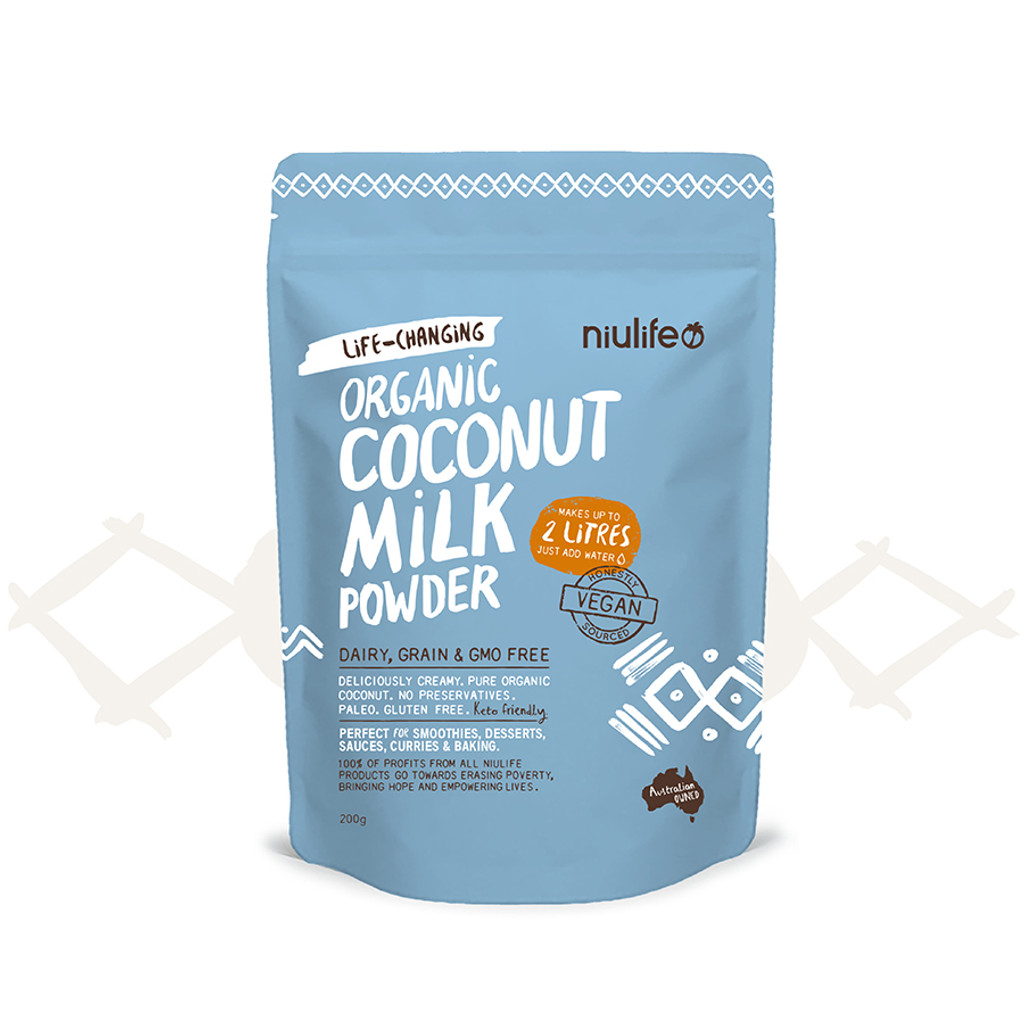 Coconut Milk Powder - Certified Organic 200g