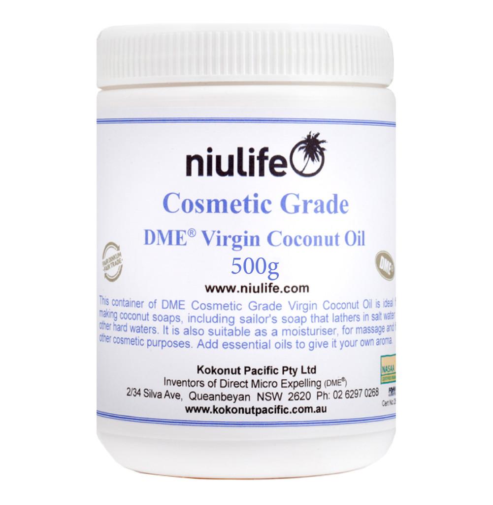 Extra Virgin Coconut Oil - Cosmetic Grade 500g