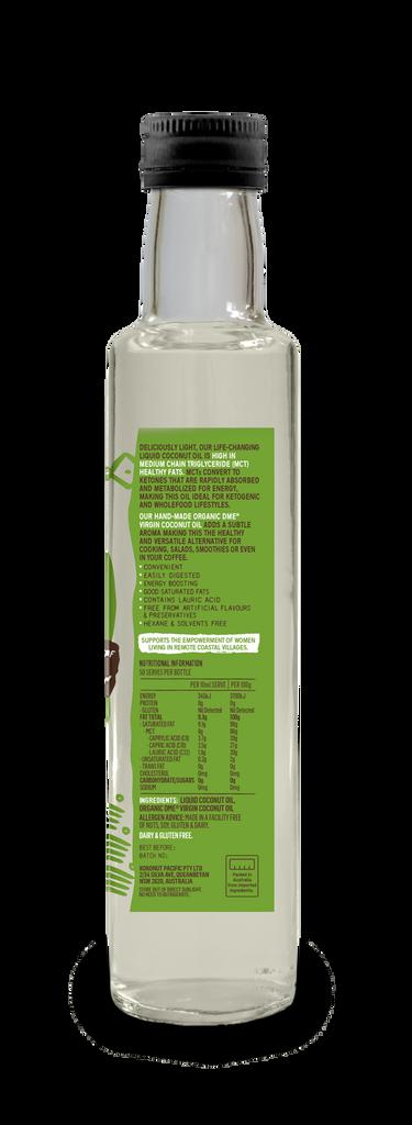 Liquid Coconut Oil - 500ml Glass Bottle