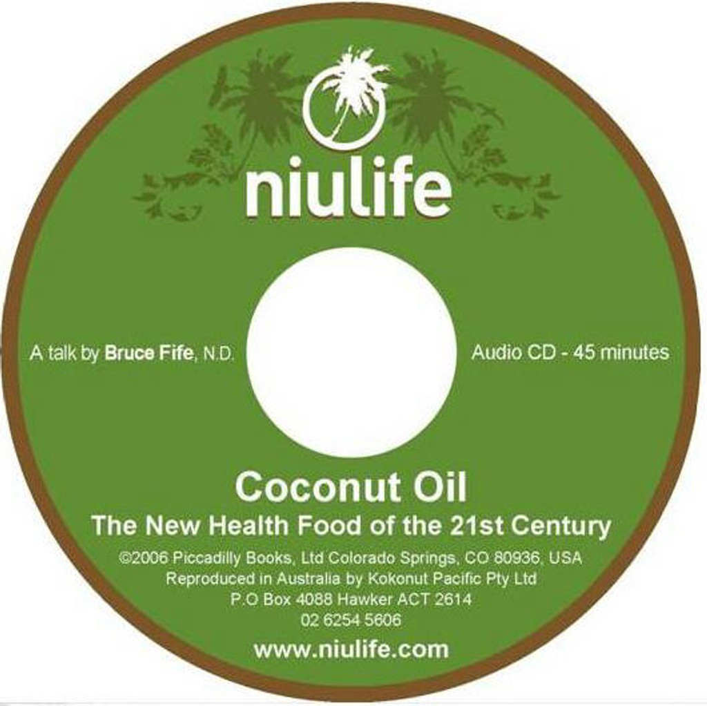 Coconut Oil - New Health Food of the 21st Century (CD) *Reduced to Clear*