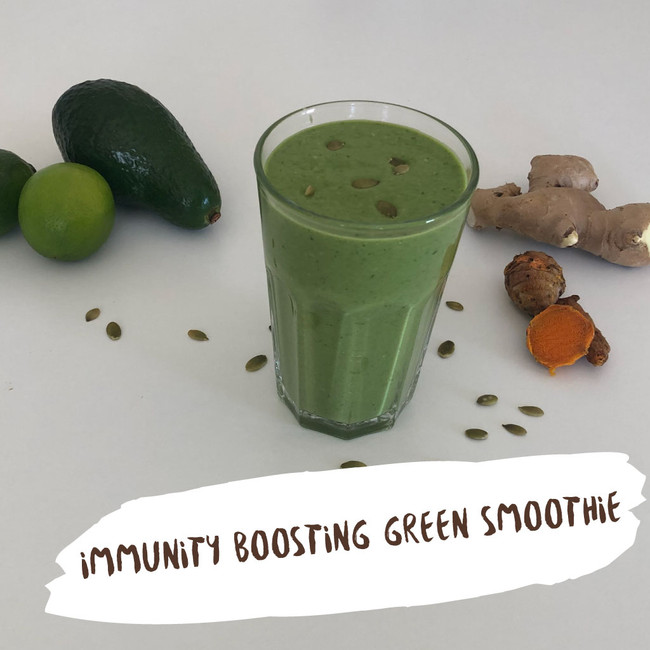 Immunity Boosting Green Smoothie