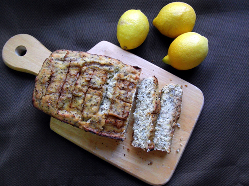 Chia and Lemon Gluten Free Cake