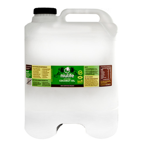 Extra Virgin Coconut Oil - Certified Organic - 20L Cube