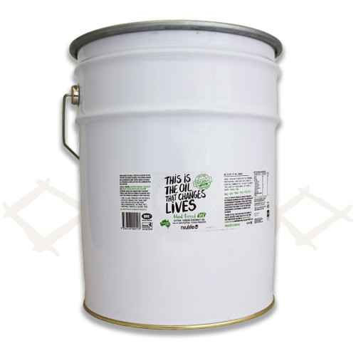Virgin Coconut Oil - 20L Metal Pail (Bulk)