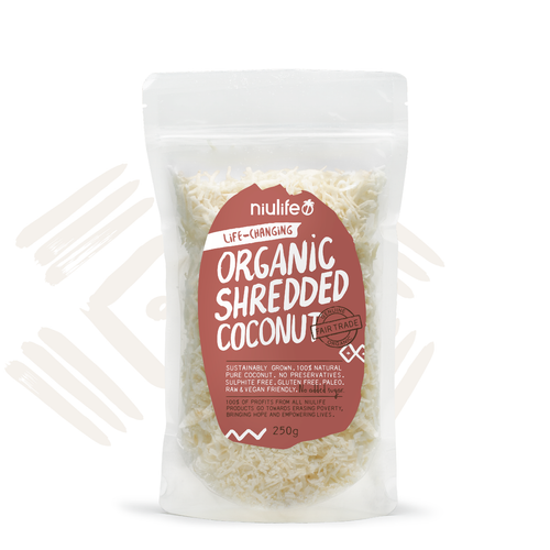 Organic Shredded Coconut - 250g