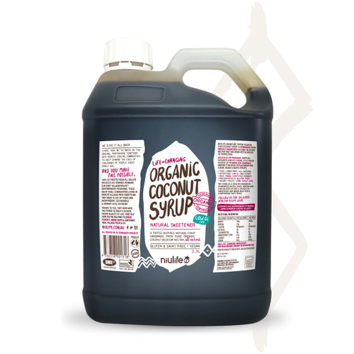 Handmade Coconut Syrup - Certified Organic 2.5L Jerry Can
