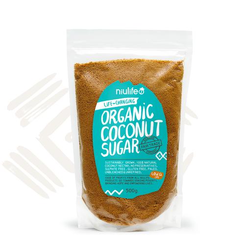 Organic Coconut Sugar - 500g Pouch