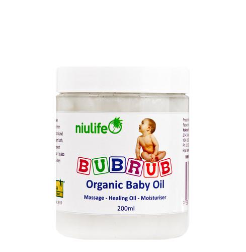 Certified Organic BubRub - 200ml