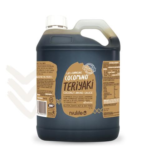 Cocomino - Teriyaki Coconut Amino Sauce - 2.5L Jerry Can