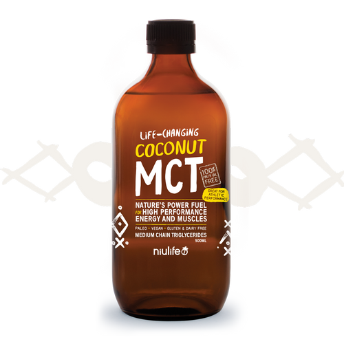 Coconut MCT OIl - 500ml Bottle