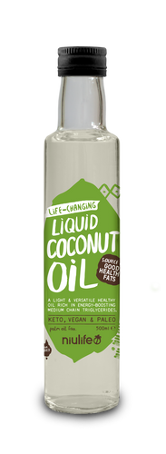 Liquid Coconut Oil - 500ml Glass Bottle