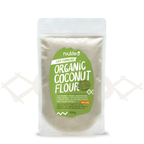 Organic Coconut Flour 500g 100 Natural Pure Coconut