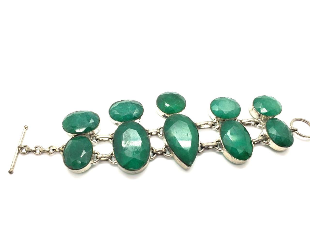 Evenings Emeralds Bracelet