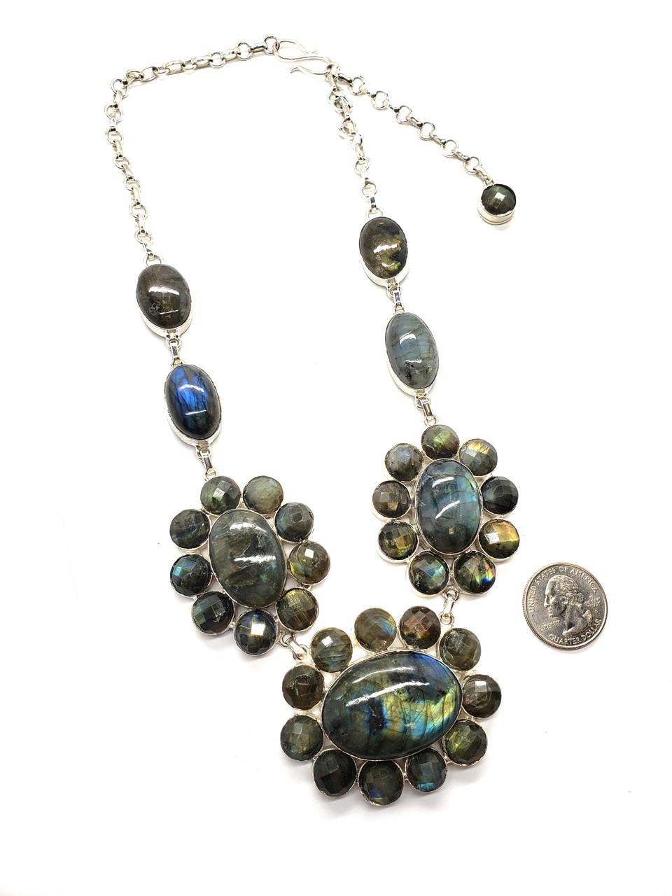 Shimmer Garden Necklace