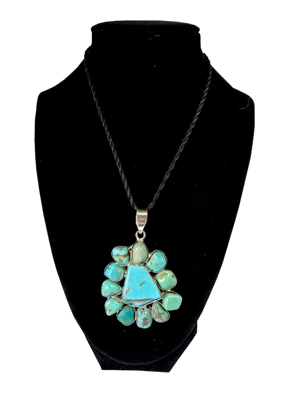 Surrounded By Turquoise Pendant