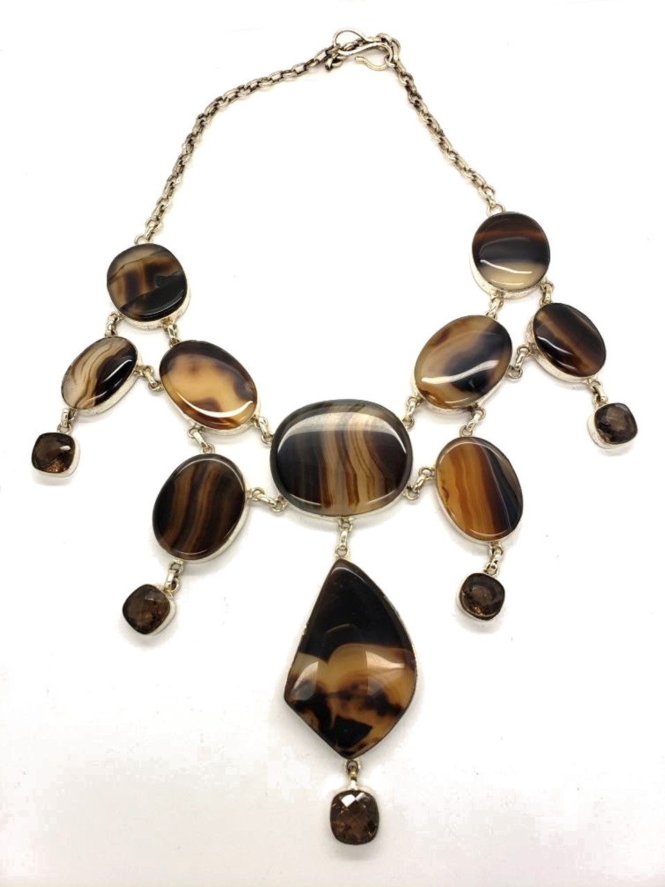 Gone With the Wind Agate Necklace