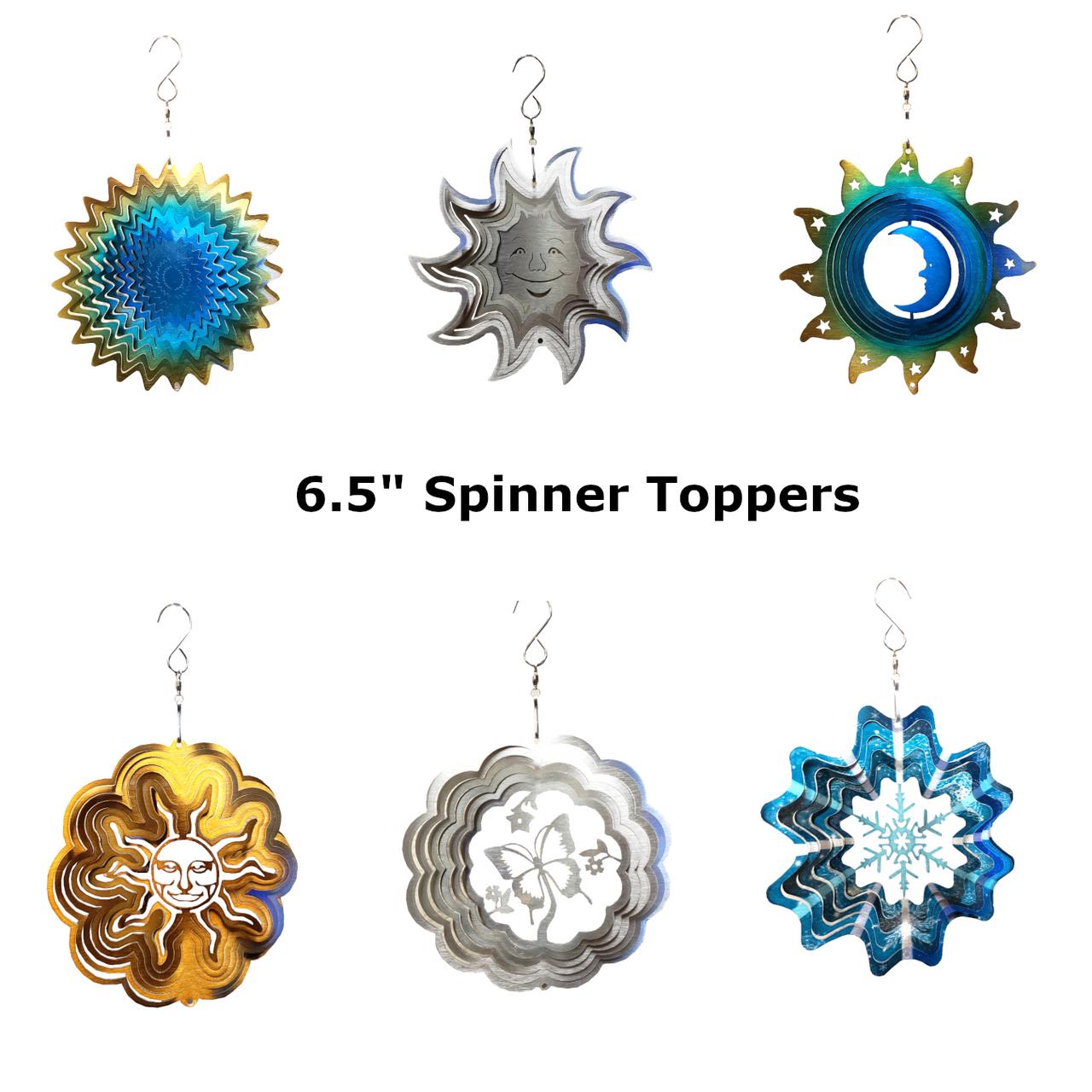 "6.5"" Spinner Topper Piece"