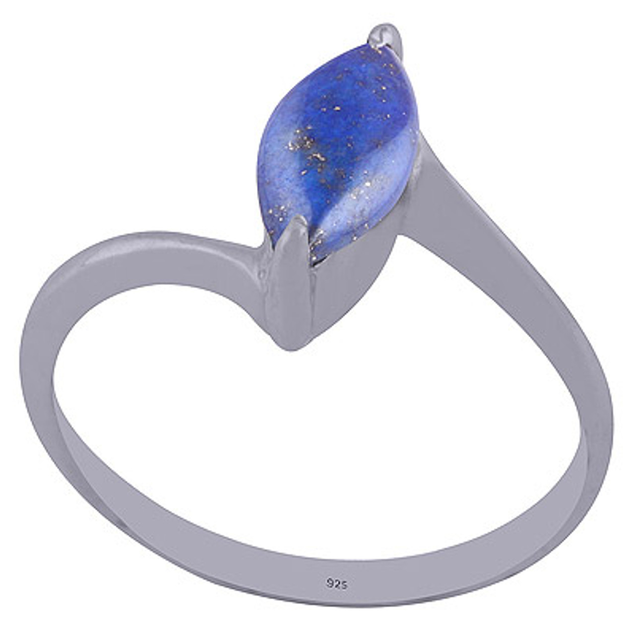 Embraced Lapis Ring