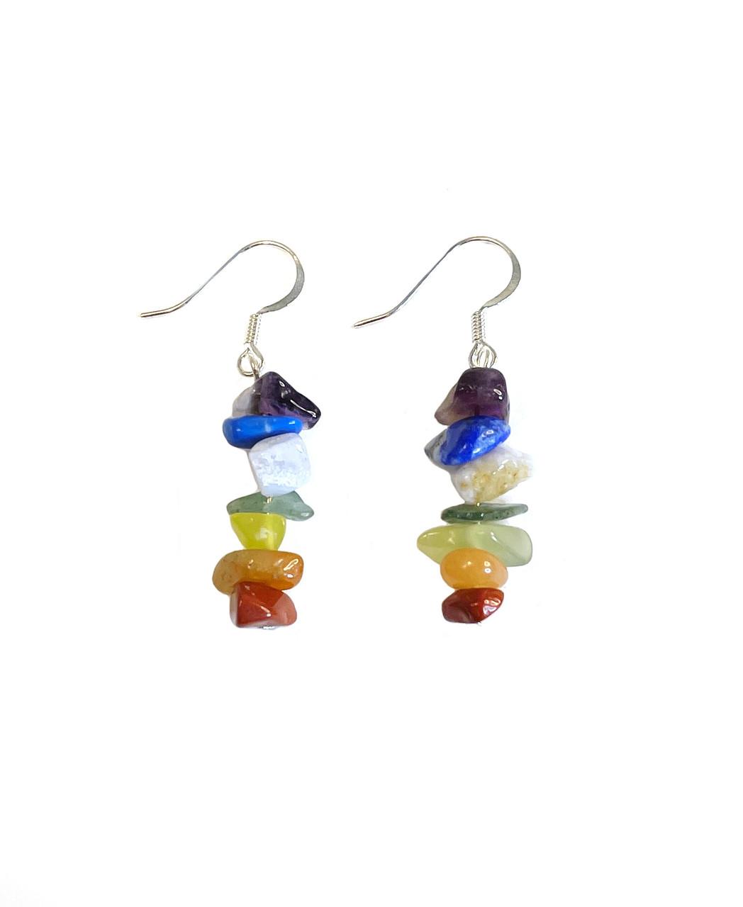 Chakra Balance Dangle Earrings