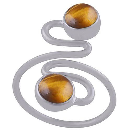 River of Gems Adjustable Ring