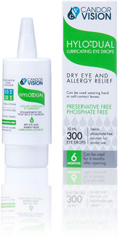Candor Vision Hylo-Dual Dry Eye and Allergy Relief
