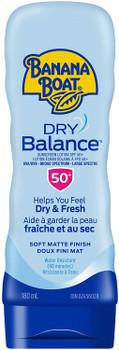 Banana Boat Sunscreen Dry Balance Lotion SPF50+ | 180mL