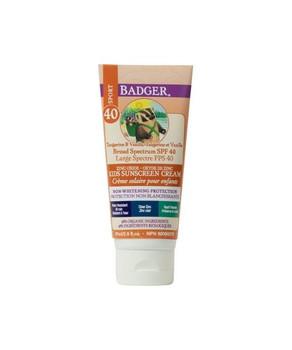 Badger Kids Sunscreen Tangerine & Vanilla  SPF40 | 87ML