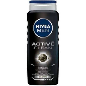 Nivea Men Active Clean Active Charcoal Shower Gel | 500ml