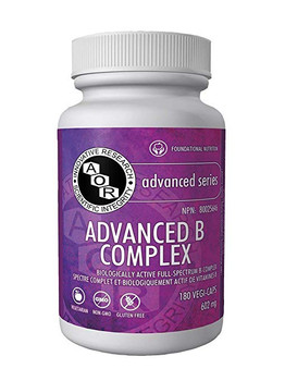 AOR Advanced B Complex 180 Vegi-caps