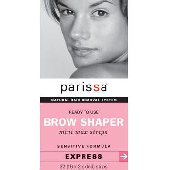 Parissa Ready To Use Brow Shaper - Mini Wax Strips - Express | 32 Strips