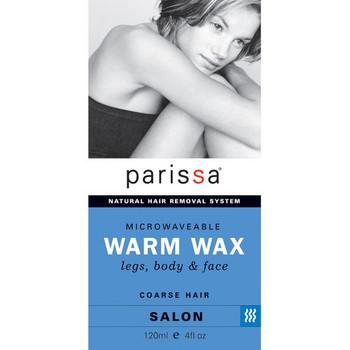 Parissa Microwaveable Warm Wax - Legs, Body & Face - Salon | 120ml