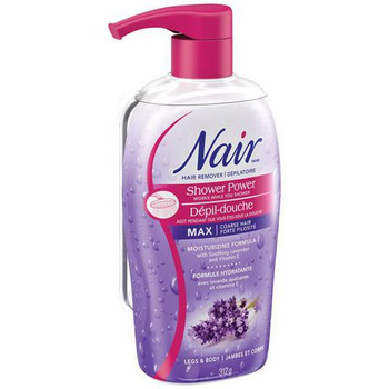Nair Hair Remover Shower Power Cream with Soothing Lavender and Vitamin E - Legs & Body | 312g