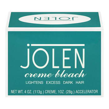Jolen Creme Bleach Mild Formula Plus Aloe Vera - Lightens Excess Dark Hair | 28g