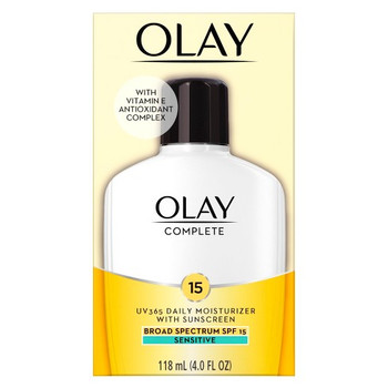 Olay Complete Daily Moisturizing Lotion with Sunscreen for Sensitive Skin SPF 15 | 120ml