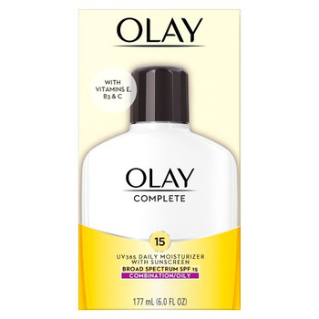 Olay Complete Daily Moisturizing Lotion with Sunscreen for Combination/Oily Skin SPF 15 | 120ml