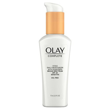 Olay Complete Daily Moisturizing Lotion with Sunscreen for Sensitive Skin SPF 30   75 ml